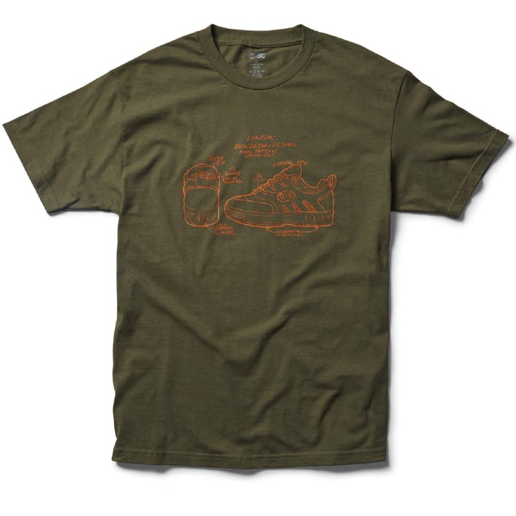 DC Shoes x Bronze56K Lukoda T-Shirt - Green | T-Shirt by DC Shoes 1