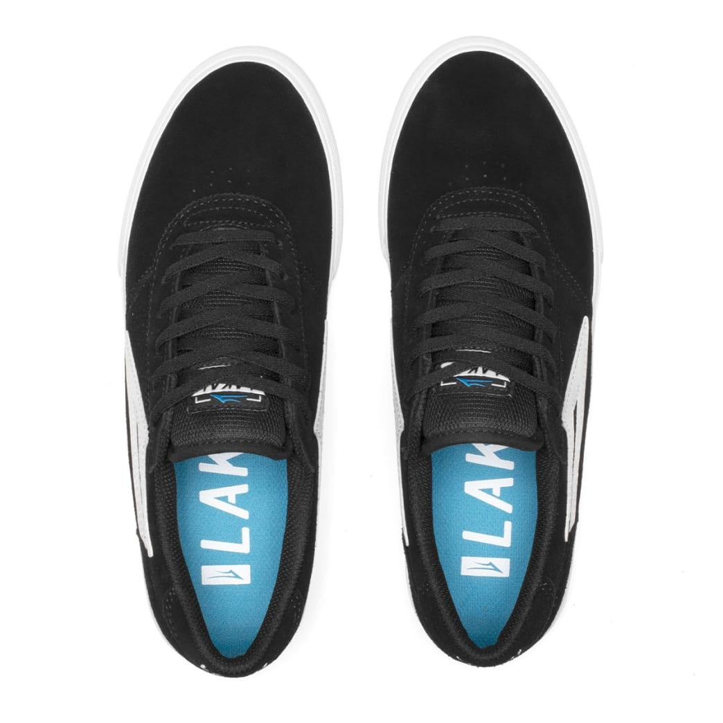 Lakai Manchester Suede Skate Shoes - Black | Shoes by Lakai 2