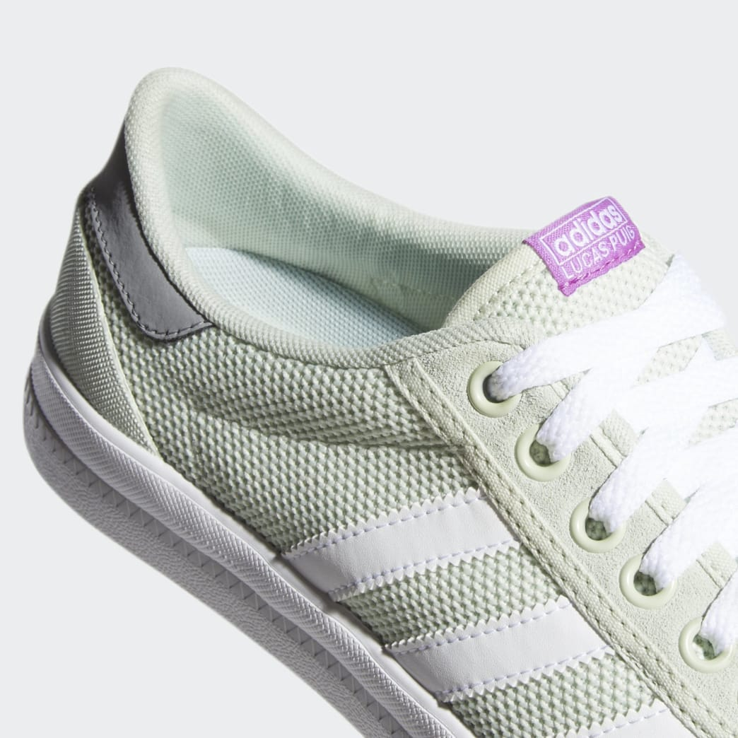 Adidas Lucas Premiere Shoes - Linen Green/Footwear White/Grey 3 | Shoes by adidas Skateboarding 7
