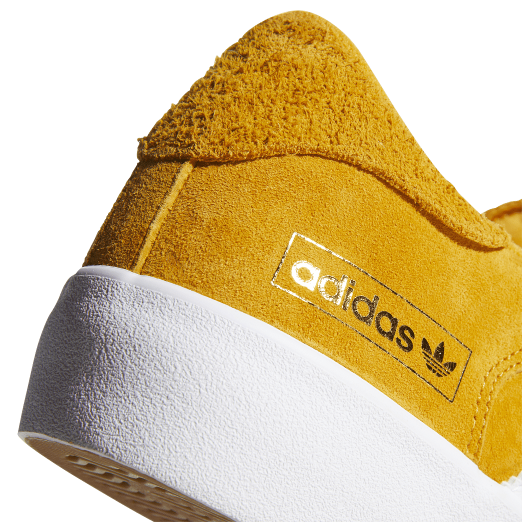 adidas Matchbreak Super Skate Shoes - Tactile Yellow / FTWR White / Gold Met | Shoes by adidas Skateboarding 8