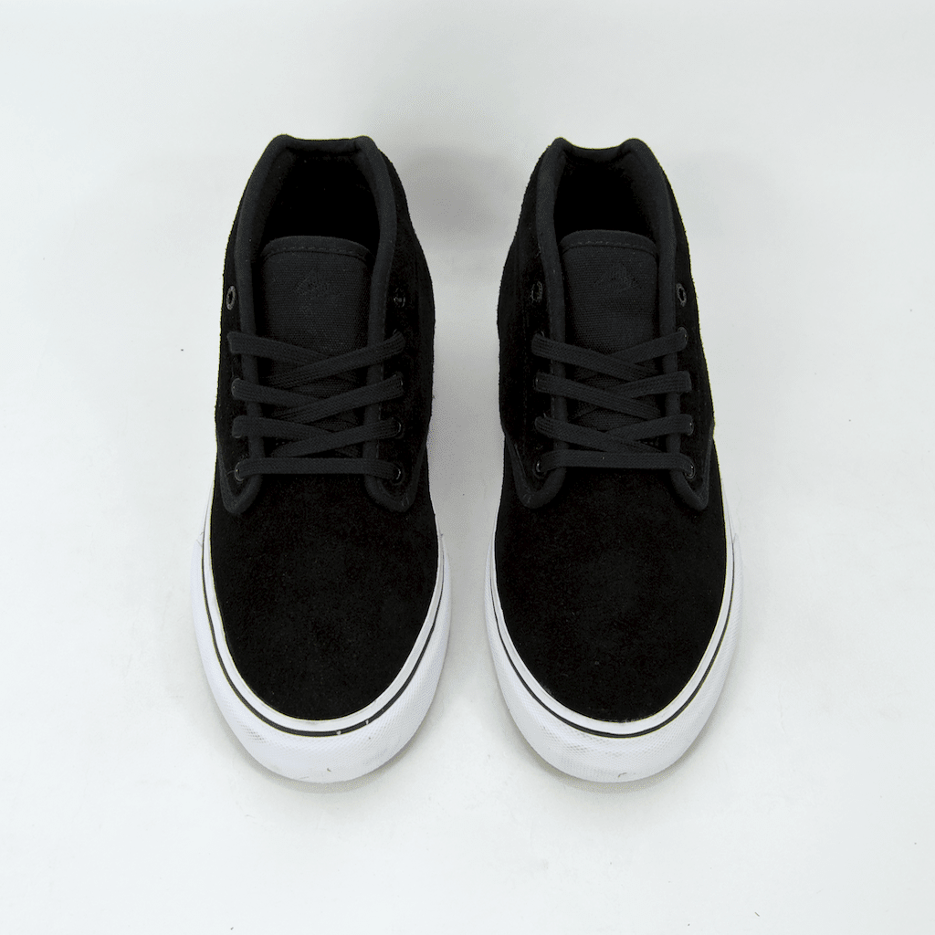 Emerica - Wino G6 Mid Shoes - Black / White / Gold | Shoes by Emerica 4