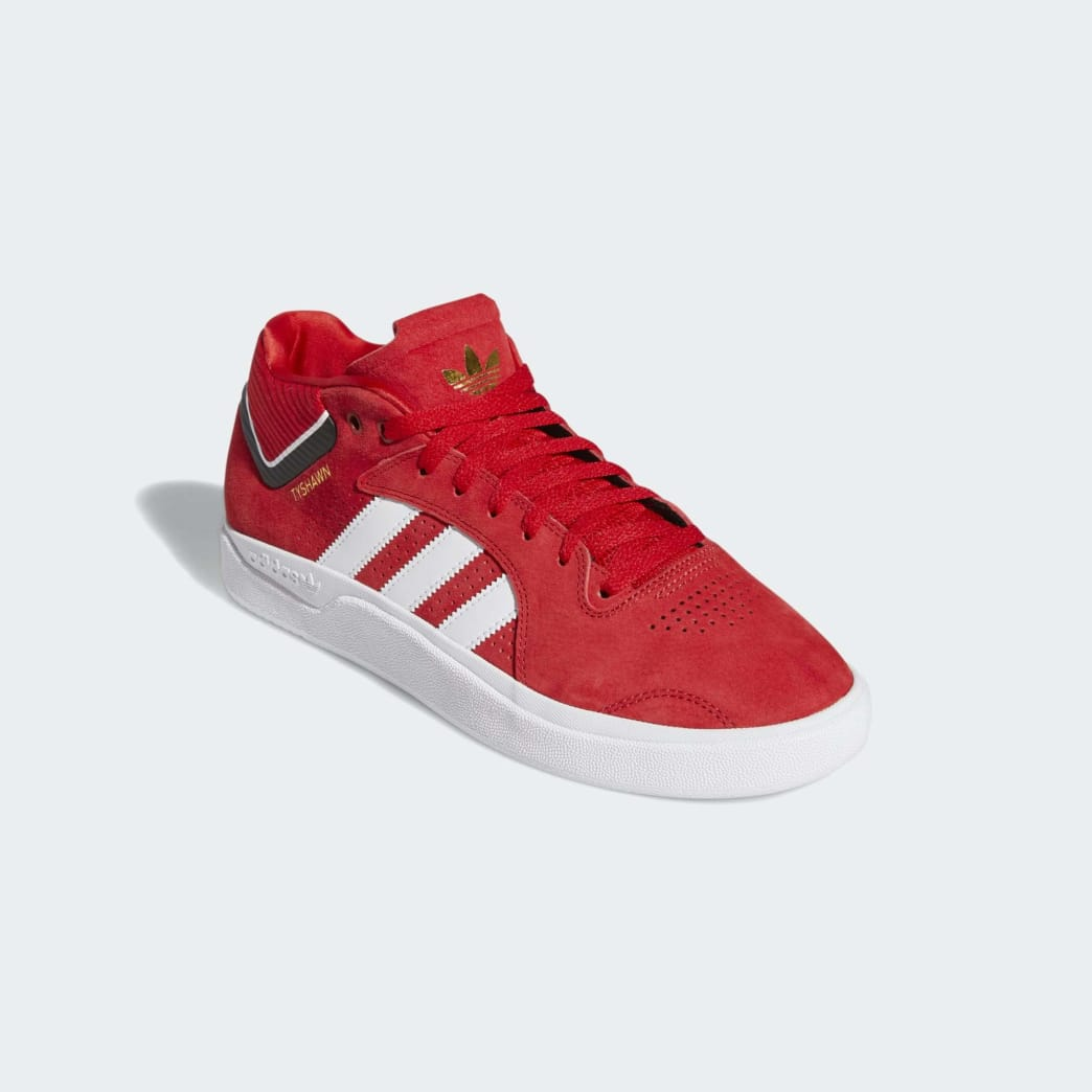 adidas Tyshawn Skateboard Shoes - Scarlet/Cloud White/Core Black | Shoes by adidas Skateboarding 4