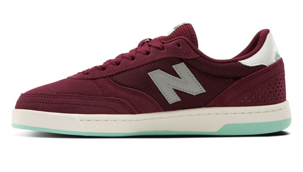 New Balance Numeric 440 Skate Shoe - Burgundy / Grey | Shoes by New Balance 2