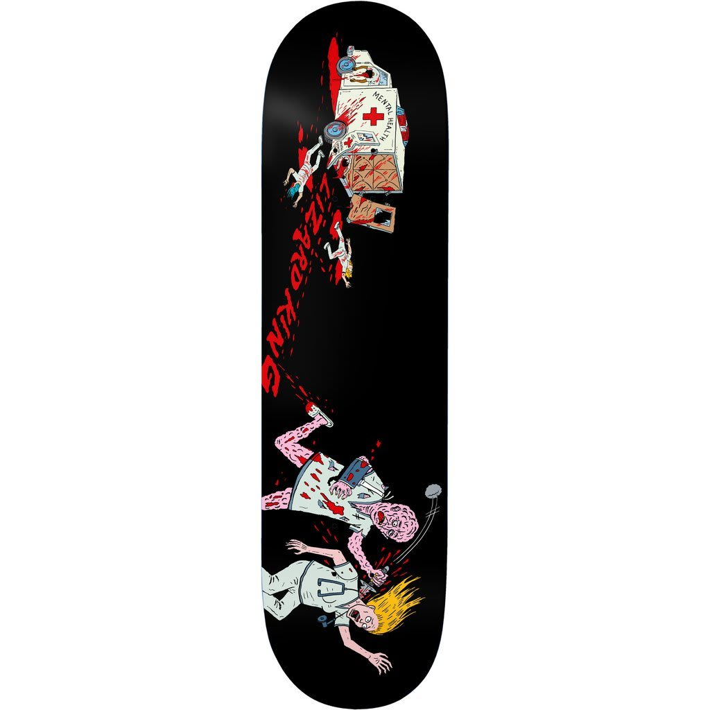 Deathwish Lizard King Escapee Deck 8.5"