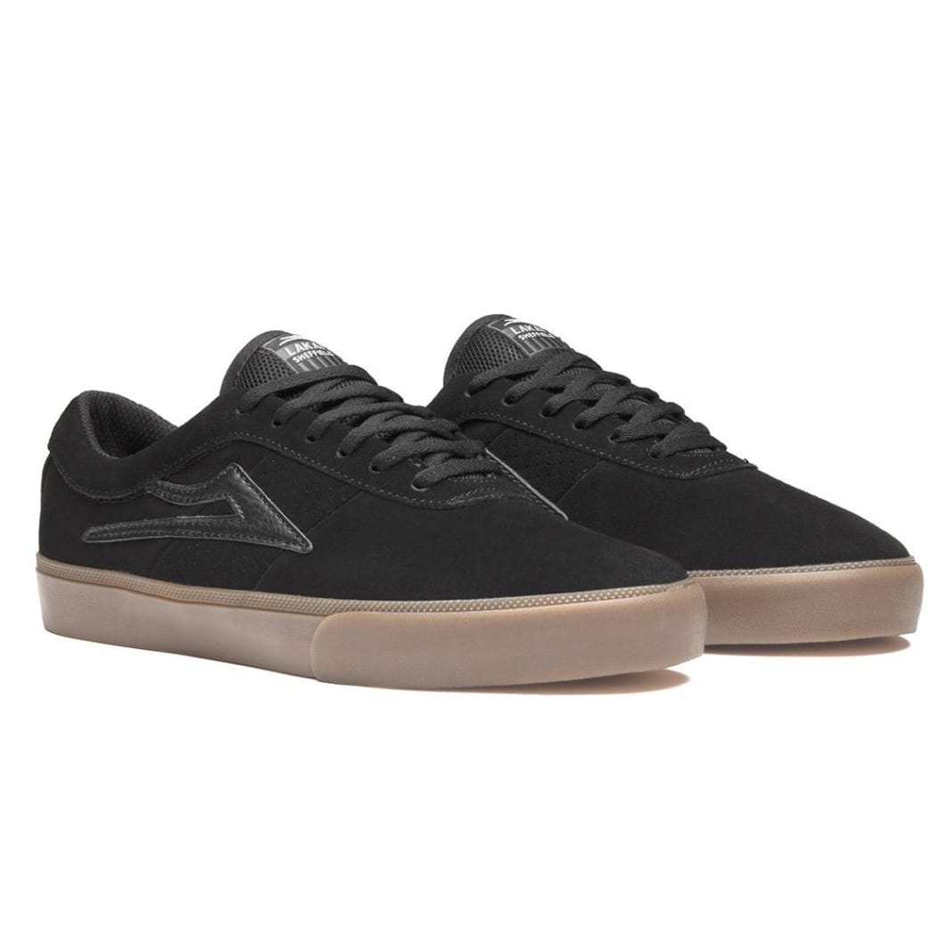 Lakai Sheffield Shoes - Black/Gum Suede | Shoes by Lakai 2