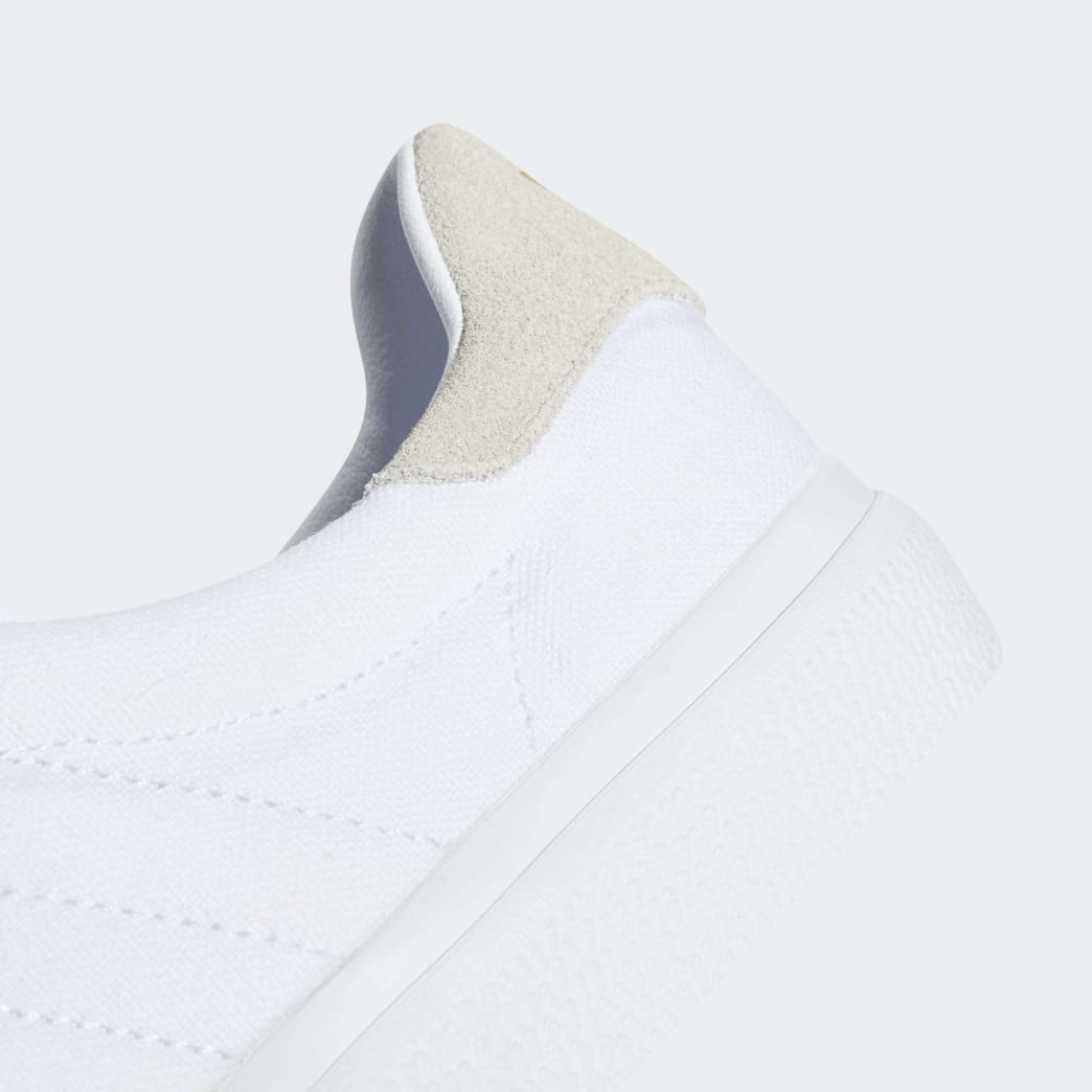 Adidas 3MC Vulc Shoes - FTWR White/Crystal White/Gold Metallic | Shoes by adidas Skateboarding 10