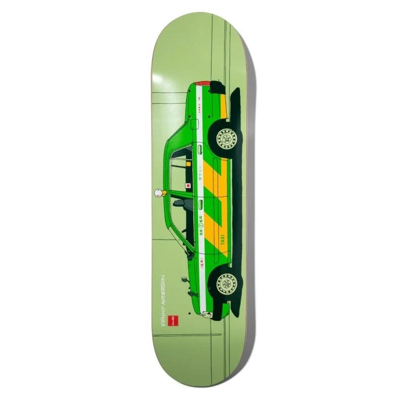 Chocolate Anderson World Taxis Deck - 8"
