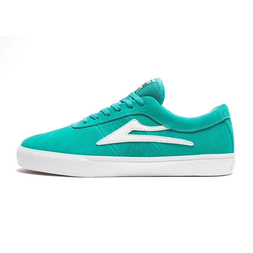 Lakai Sheffield Shoes - Teal Suede | Shoes by Lakai 1