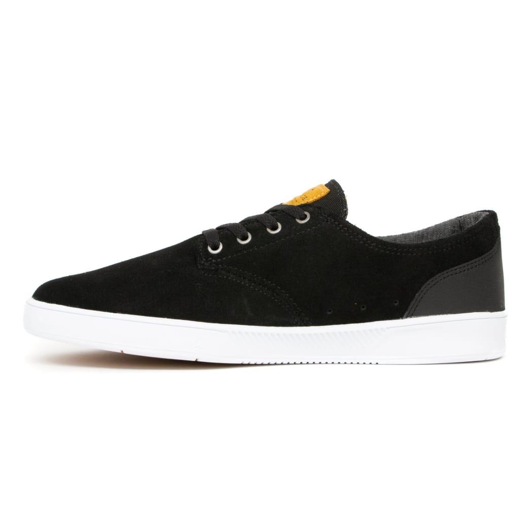 Emerica Romero Laced Skate Shoes - Black / Black / White | Shoes by Emerica 2