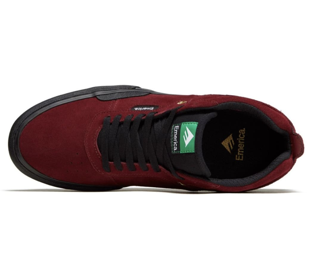 Emerica Pillar Skate Shoes - Oxblood | Shoes by Emerica 3