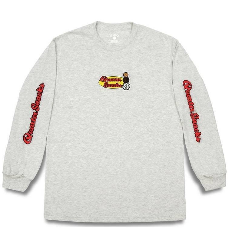Quartersnacks Middle School Long Sleeve T-Shirt - Ash Grey | Longsleeve by Quartersnacks 1