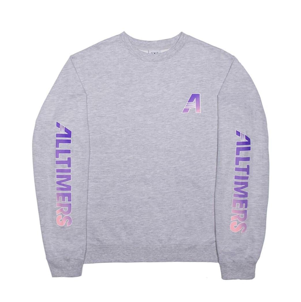 Alltimers Artist Crew - Heather Grey   Sweatshirt by Alltimers 1