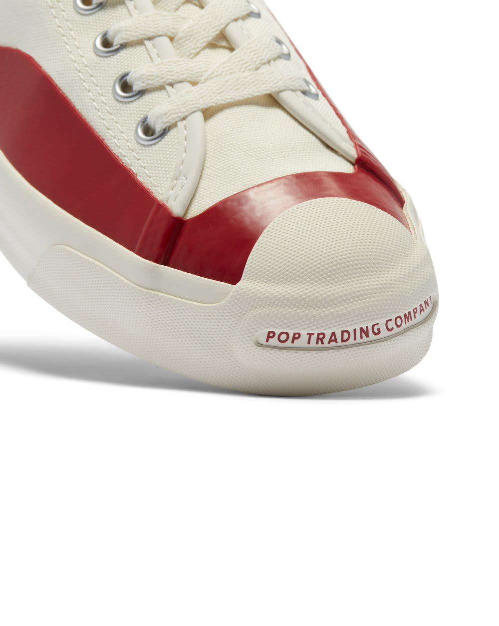 Converse Pop Trading Jack Purcell Pro Ox - Egret / Red Dahlia | Shoes by Converse Cons 6