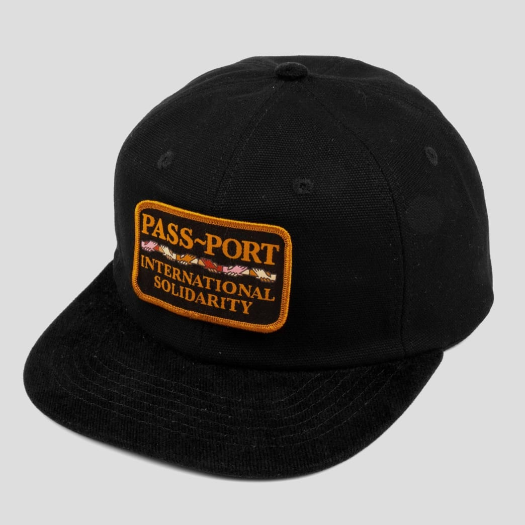 "PASS~PORT ""INTER SOLID PATCH"" CAP BLACK 