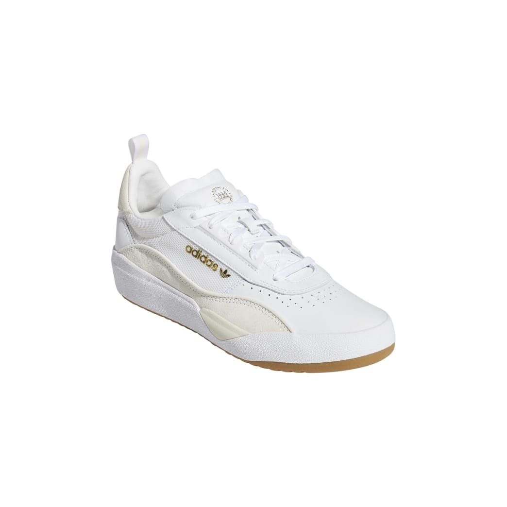 adidas Liberty Cup Skateboarding Shoe - Cloud White/Gold Metallic/Gum | Shoes by adidas Skateboarding 4