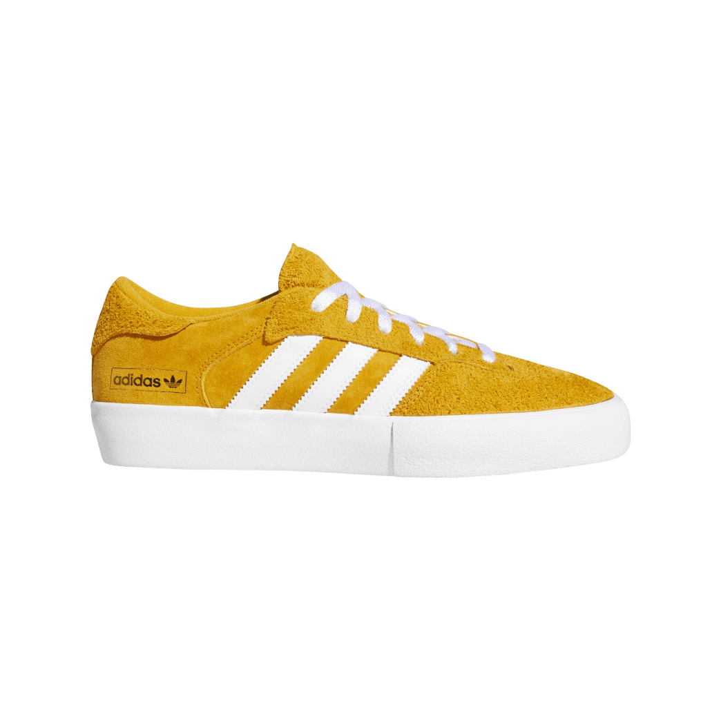 adidas Matchbreak Super Skate Shoes - Tactile Yellow / FTWR White / Gold Met | Shoes by adidas Skateboarding 1