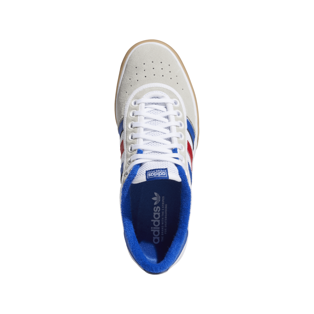 adidas Lucas Premiere Skate Shoes - FTWR White / Collegiate Royal / Crystal White | Shoes by adidas Skateboarding 2