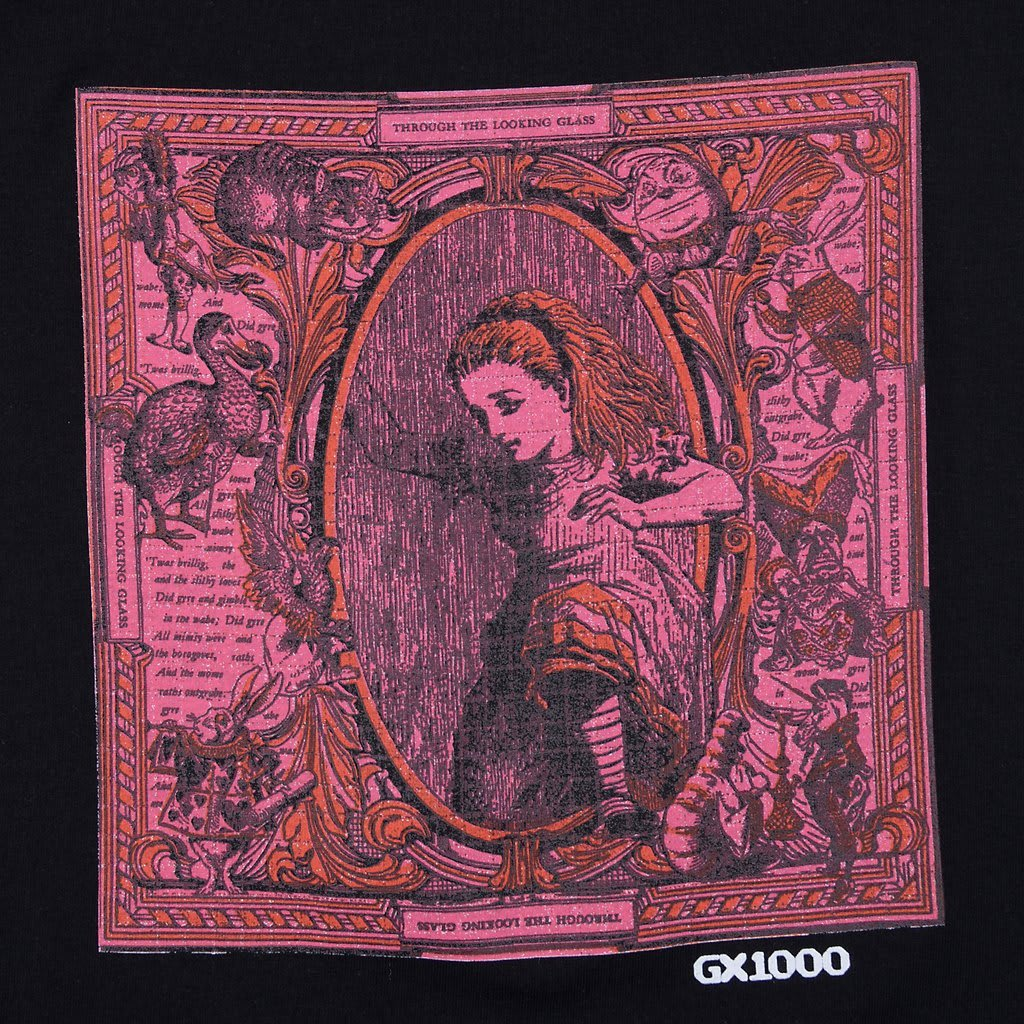 GX1000 Looking Through The Glass T-Shirt - Black | T-Shirt by GX1000 5