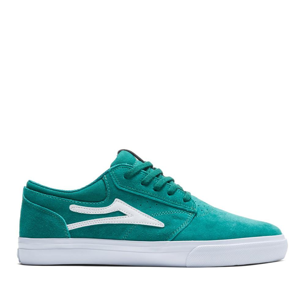 Lakai Griffin Suede Skate Shoes - Jade | Shoes by Lakai 1