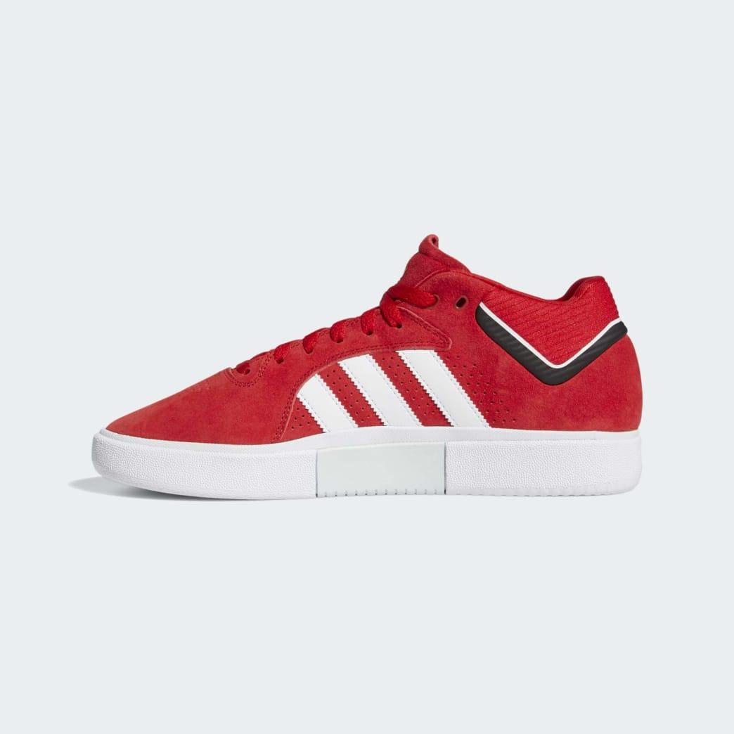 adidas Tyshawn Skateboard Shoes - Scarlet/Cloud White/Core Black | Shoes by adidas Skateboarding 6