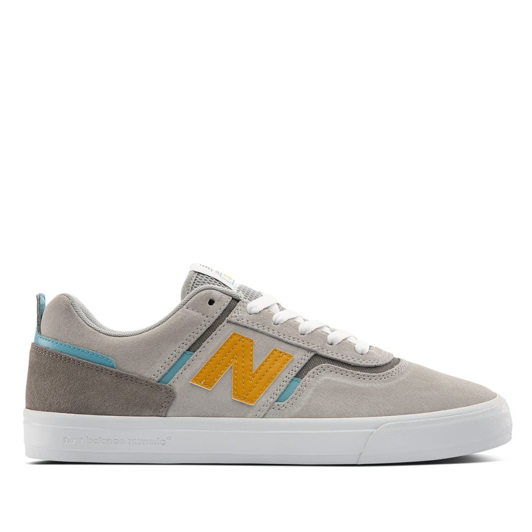 New Balance Numeric 306 Skate Shoe - Grey / Yellow | Shoes by New Balance 1