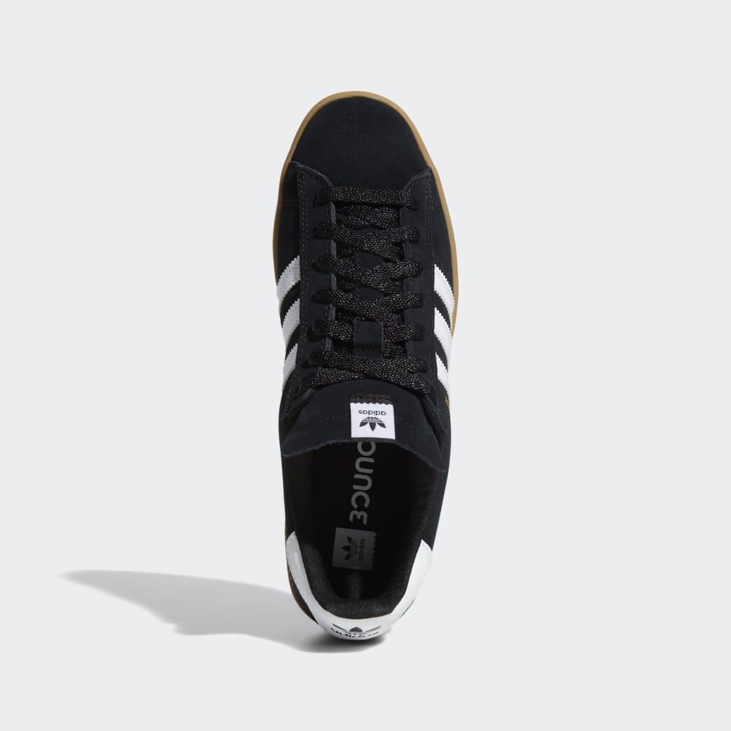 Adidas Campus ADV Shoes - Core Black/Cloud White/Gum 4 | Shoes by adidas Skateboarding 2