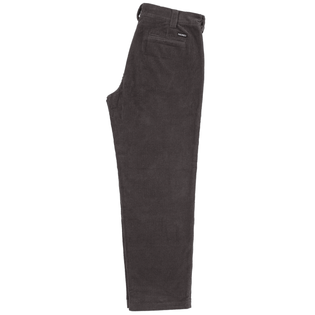 Theories Stamp Work Pant Cord Pewter   Trousers by Theories of Atlantis 2