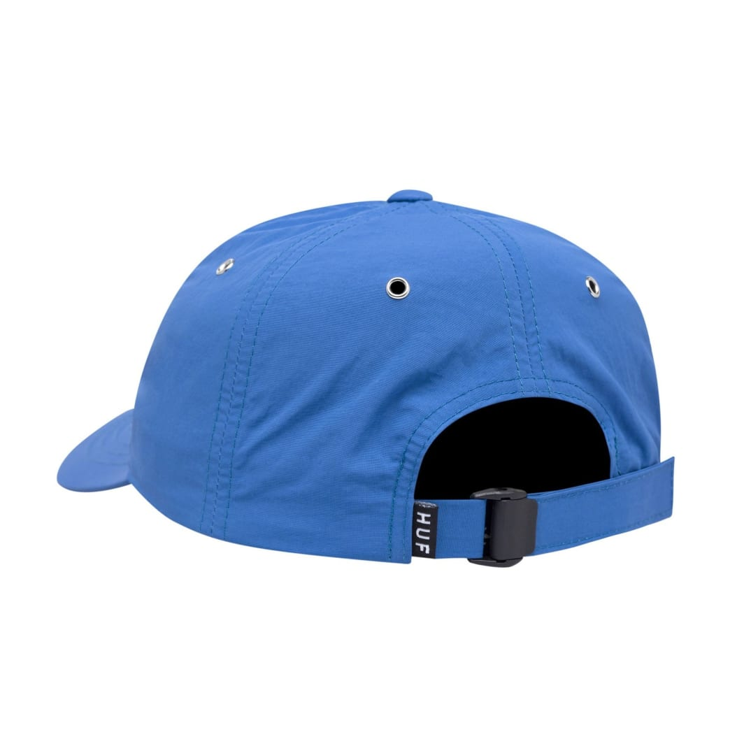 HUF - DWR Fuck It Curved Visor 6 Panel - Olympian Blue | Panel Hat by HUF 2