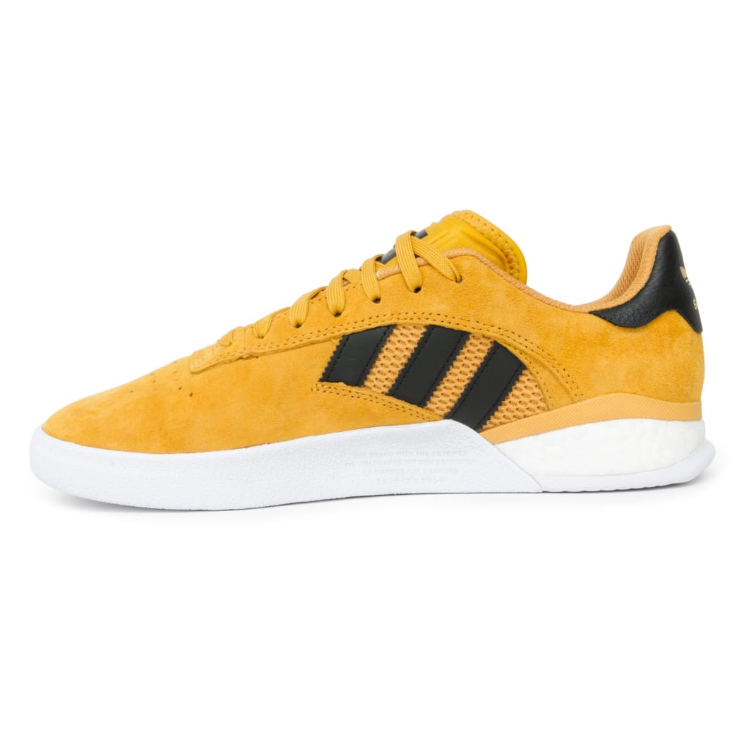 Adidas 3ST.004 x Miles Silvas Shoes - Tactile Yellow/Black/Gold | Shoes by adidas Skateboarding 3