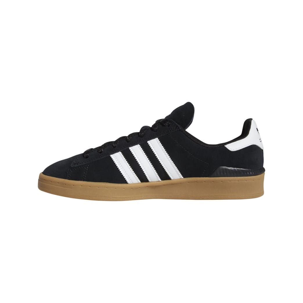 Adidas Campus ADV - Core Black / White / Gum | Shoes by adidas Skateboarding 8