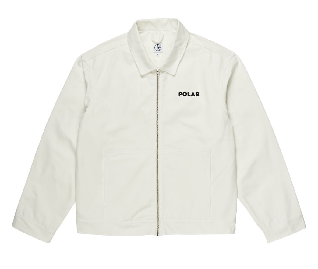 Polar Skate Co - Notes Denim Jacket - Ivory | Jacket by Polar Skate Co 2
