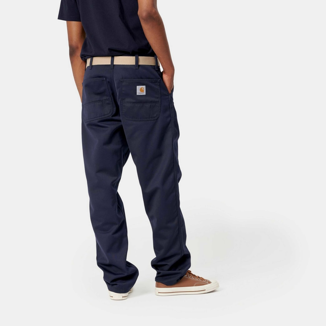 Carhartt WIP Simple Pant - Dark Navy Rinsed | Trousers by Carhartt 3