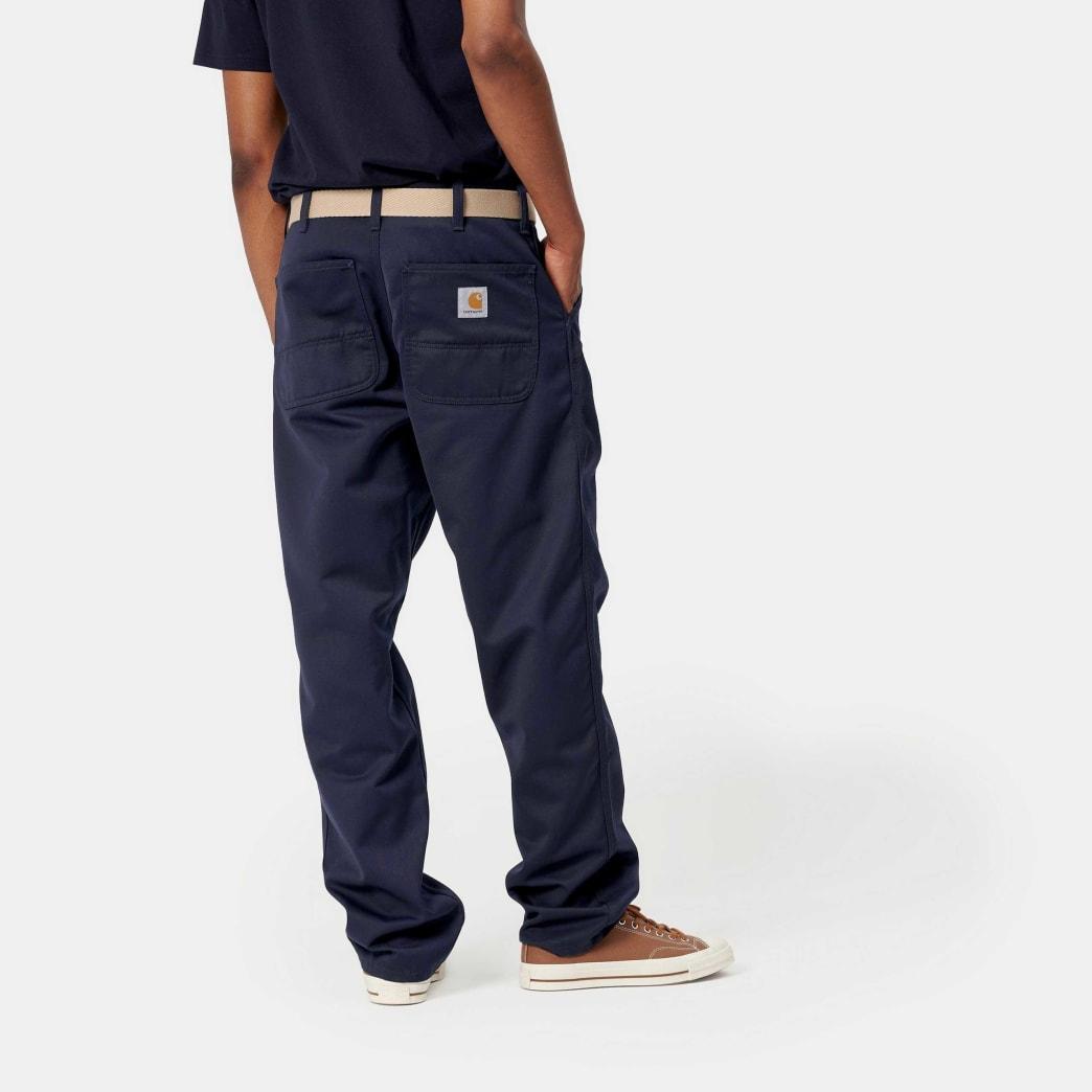Carhartt WIP Simple Pant - Dark Navy Rinsed | Trousers by Carhartt WIP 3