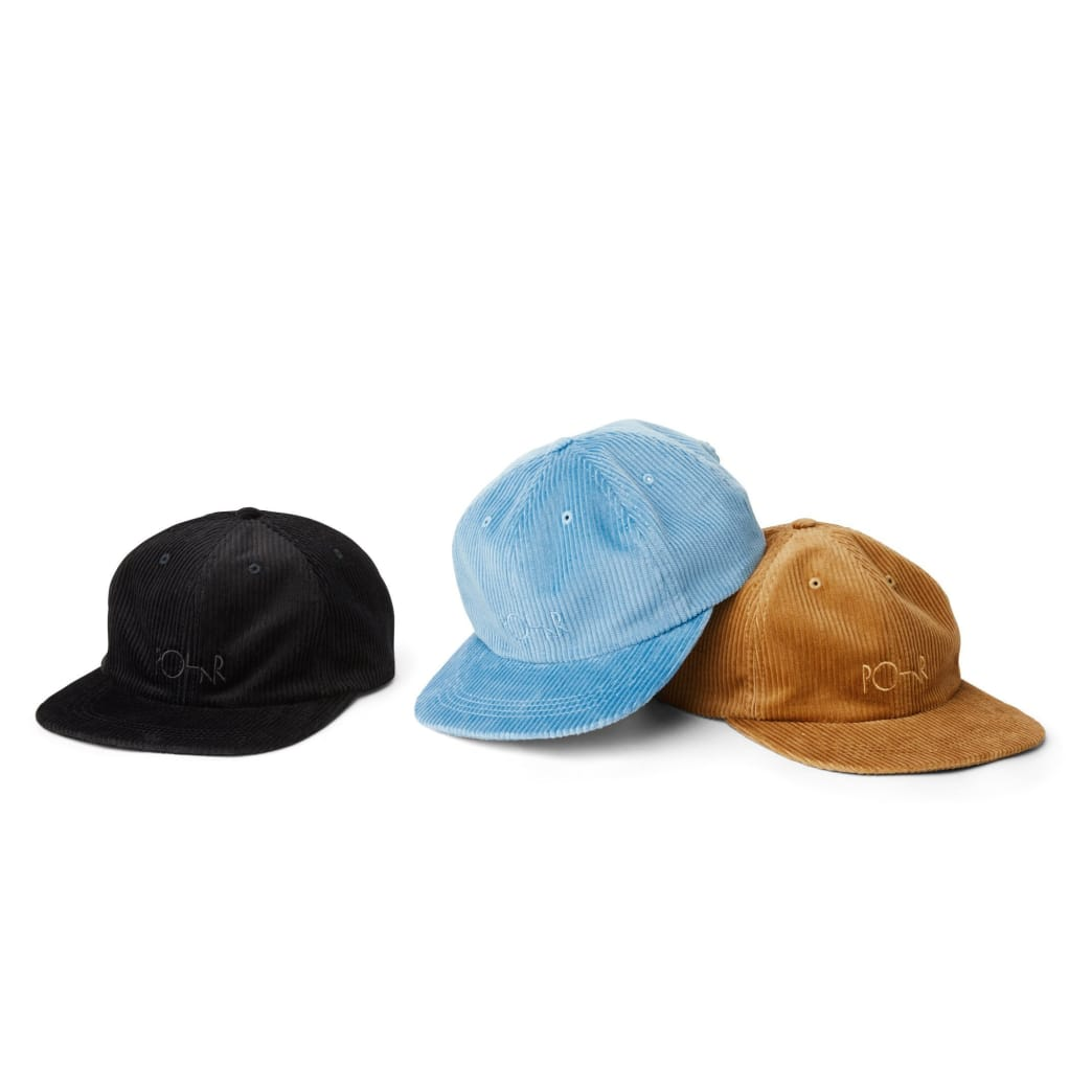 Polar Skate Co Corduroy Cap - Tan | Cap by Polar Skate Co 3