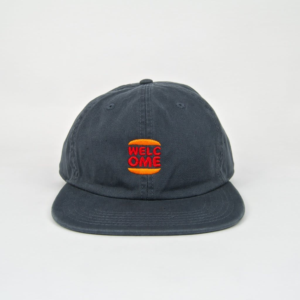 Welcome Skate Store - Burger Cap - Petrol | Baseball Cap by Welcome Skate Store 2
