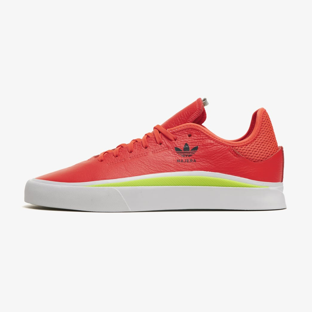 adidas Sabalo Diego Najera Skateboarding Shoe - Solar Red/FTWR White/Semi Solar Slime | Shoes by adidas Skateboarding 1