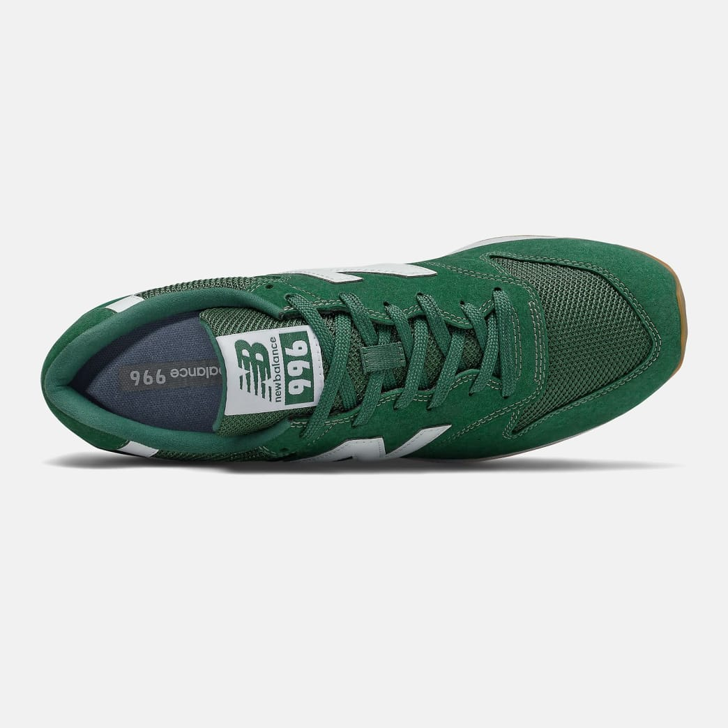 New Balance 996 Shoes - Forest Green / White   Shoes by New Balance 2