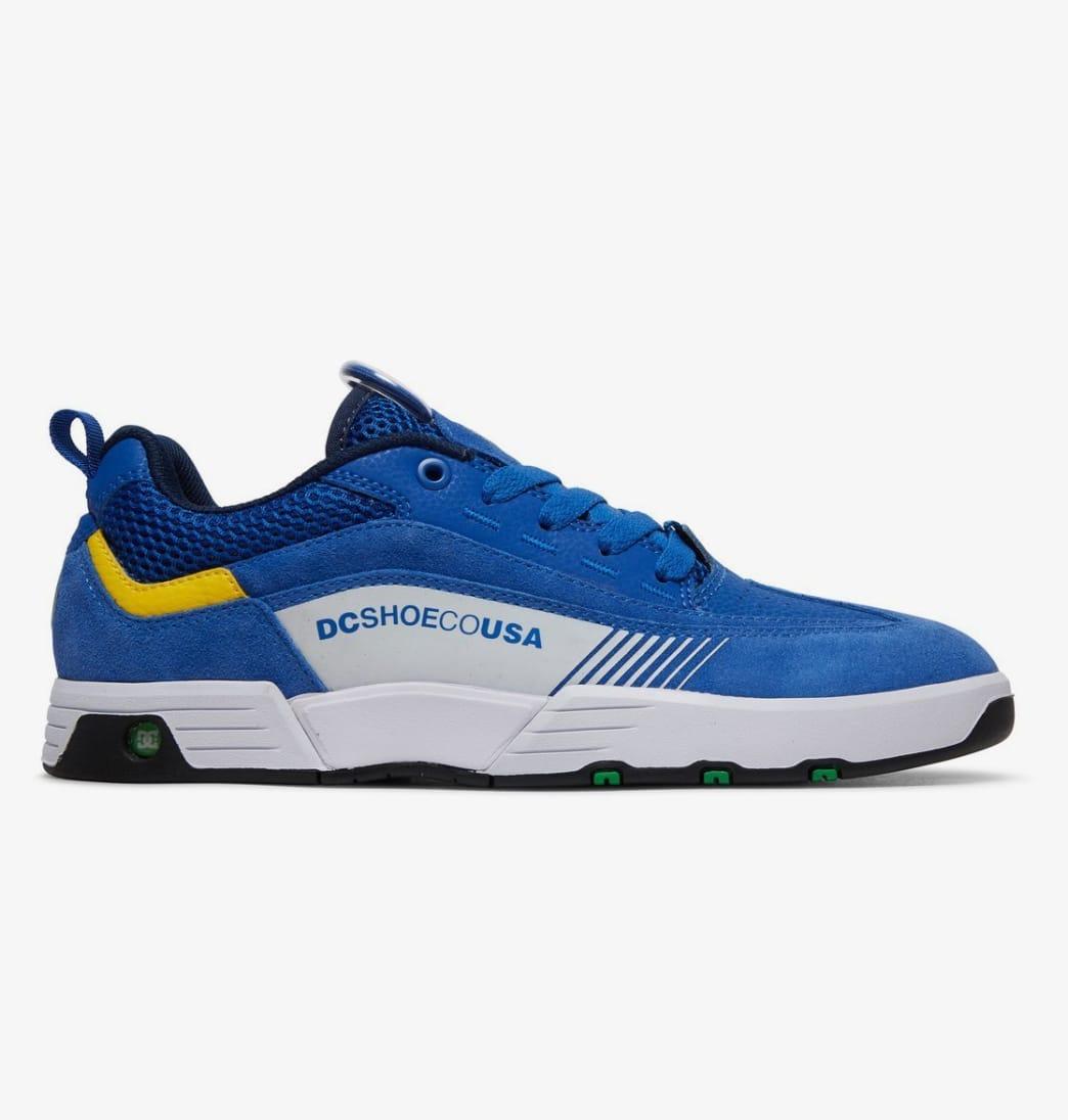 DC Legacy 98 Slim Skate Shoes - Blue (445)   Shoes by DC Shoes 1
