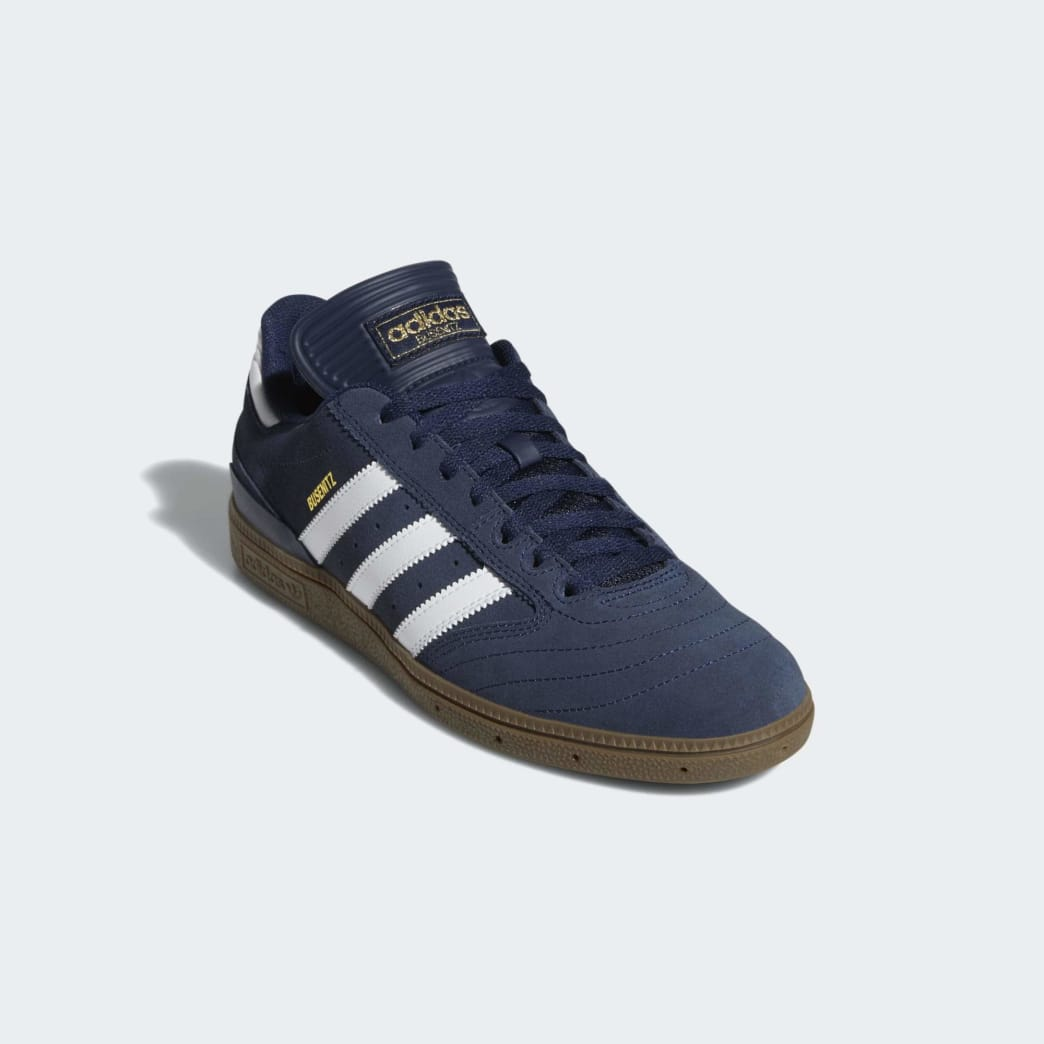 Adidas Busenitz Shoes - Collegiate Navy/Cloud White/Gum 5 | Shoes by adidas Skateboarding 4