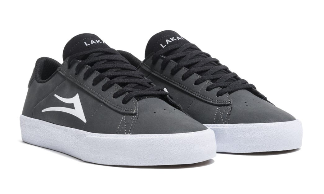 Lakai Newport Shoes - Charcoal Synthetic | Shoes by Lakai 3