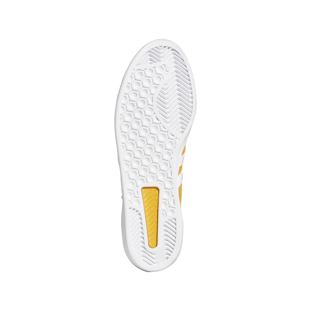 adidas Campus ADV Skate Shoes - Tactile Yellow / Cloud White / Gold Metallic | Shoes by adidas Skateboarding 4
