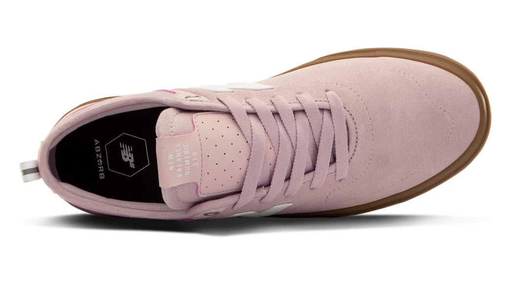 New Balance Numeric 379 Skate Shoe - Pink / Gum | Shoes by New Balance 3