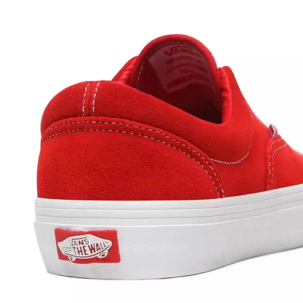 Vans Era Pro Skate Shoes - Red / White | Shoes by Vans 5