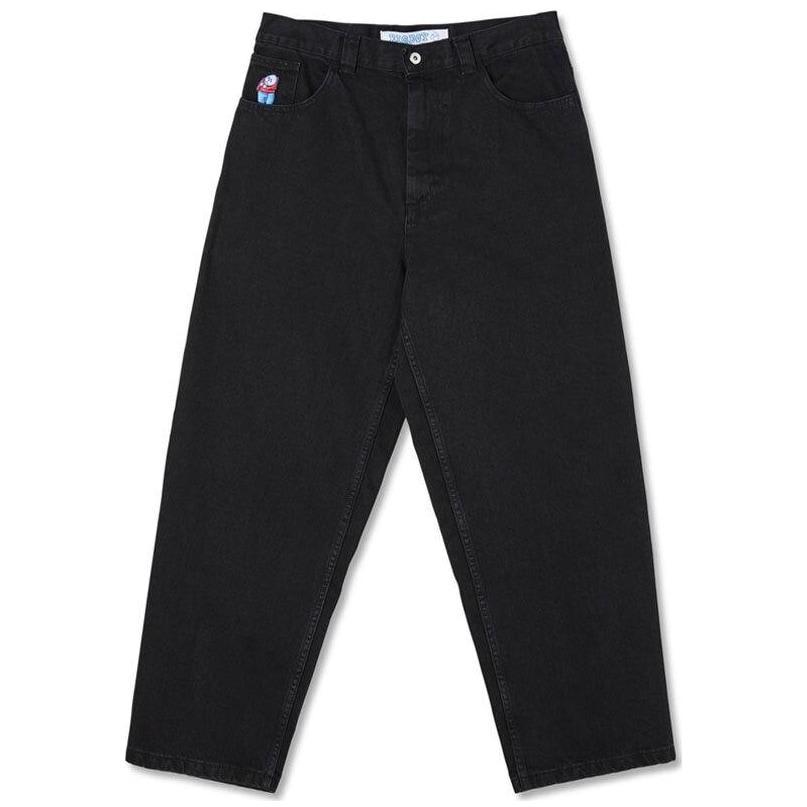 Polar Skate Co Big Boy Jeans - Pitch Black   Jeans by Polar Skate Co 1