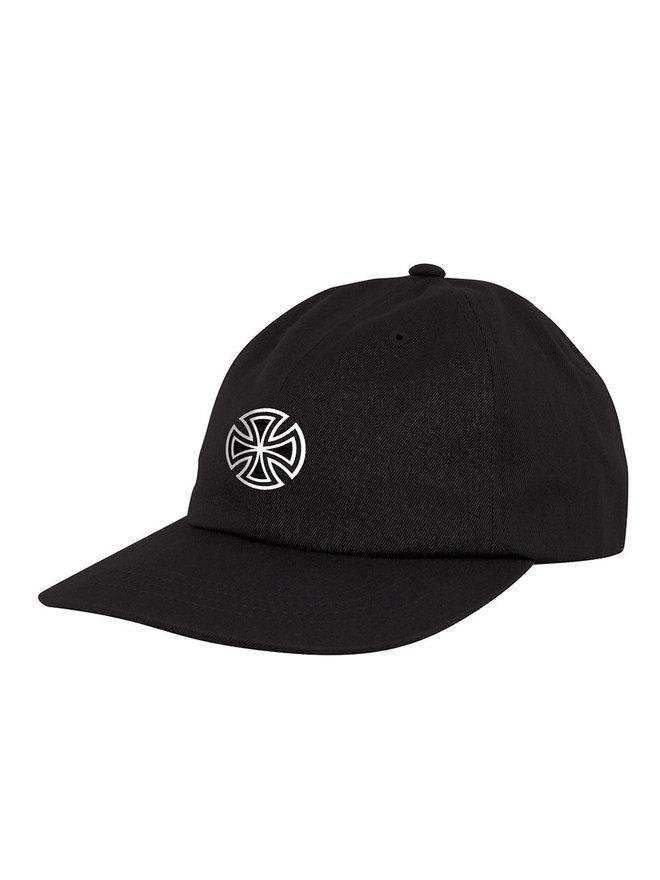 INDEPENDENT GSD Cross Strapback Hat Black | Baseball Cap by Independent Trucks 1