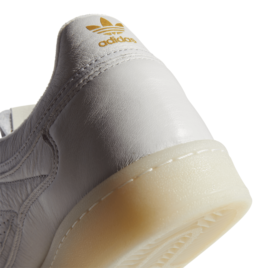 adidas Skateboarding FA Experiment 2 Shoes - Crystal White / Chalk White / Gold Metallic | Shoes by adidas Skateboarding 9