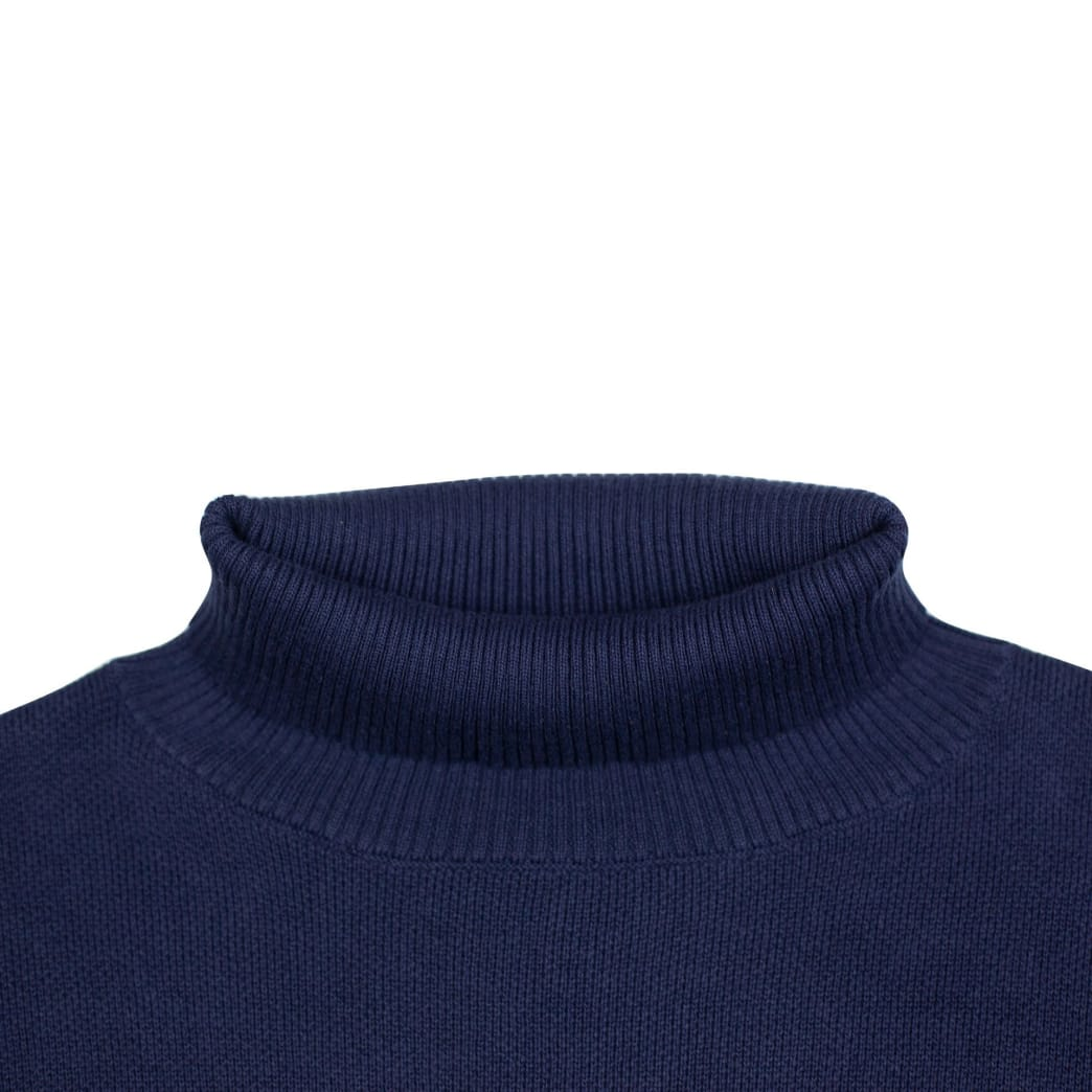Yardsale South Bay Roll Neck Sweater - Indigo | Sweatshirt by Yardsale 3