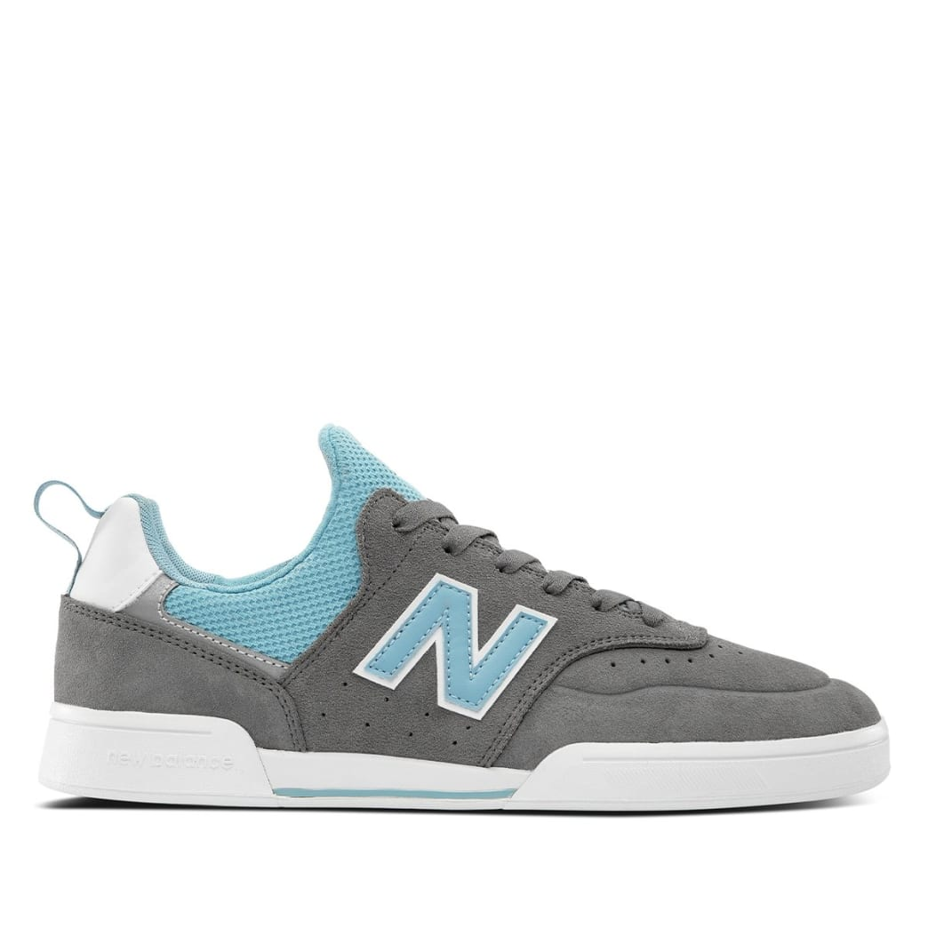 New Balance Numeric 288 Sport Skate Shoe - Grey / Blue   Shoes by New Balance 1