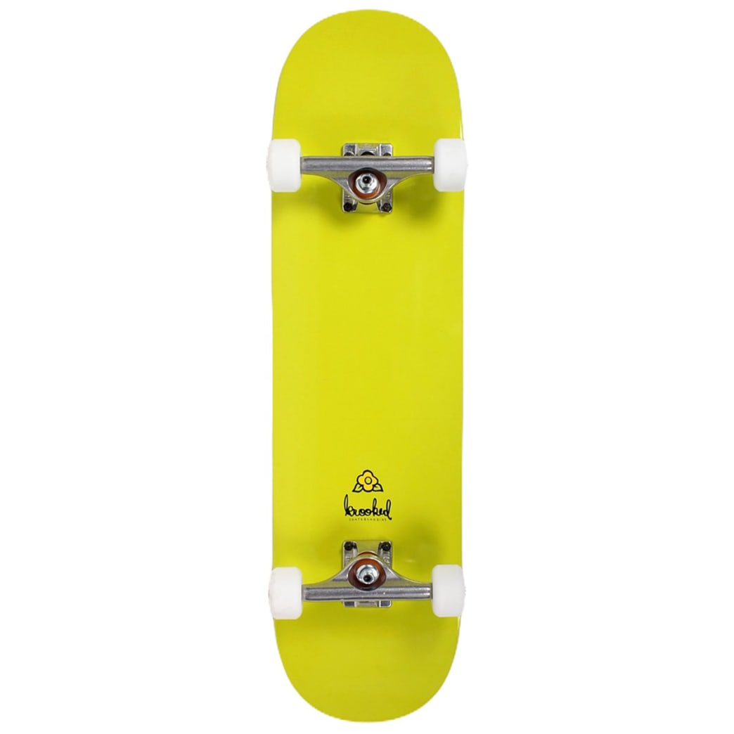 Krooked Assembled Complete Ikon Pricepoint 8.25 Green | Complete Skateboard by Krooked Skateboards 1