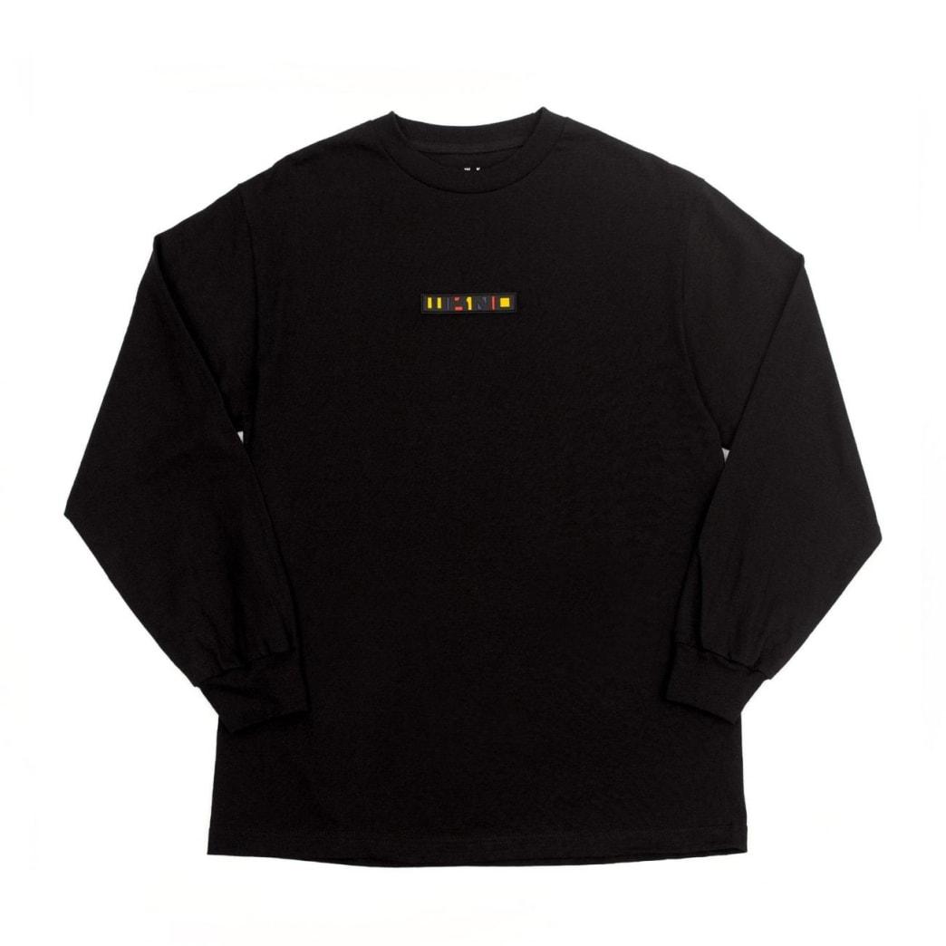 WKND Patchy Long Sleeve T-Shirt - Black | Longsleeve by WKND 1